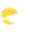 Soleggiato con periodi nuvolosi